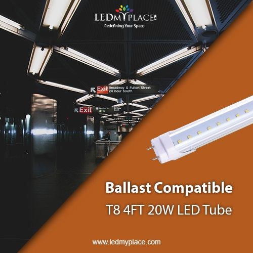 T8 4ft 20w Led Tube Light From Ledmyplace Is Designed To Light Up Instantly Without Any Flickering Or Humming Noi With Images Led Tubes Led Tube Light Tube Light