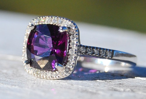OMG. Does anyone know how much a Purple Sapphire costs? Absolutely astonishing!