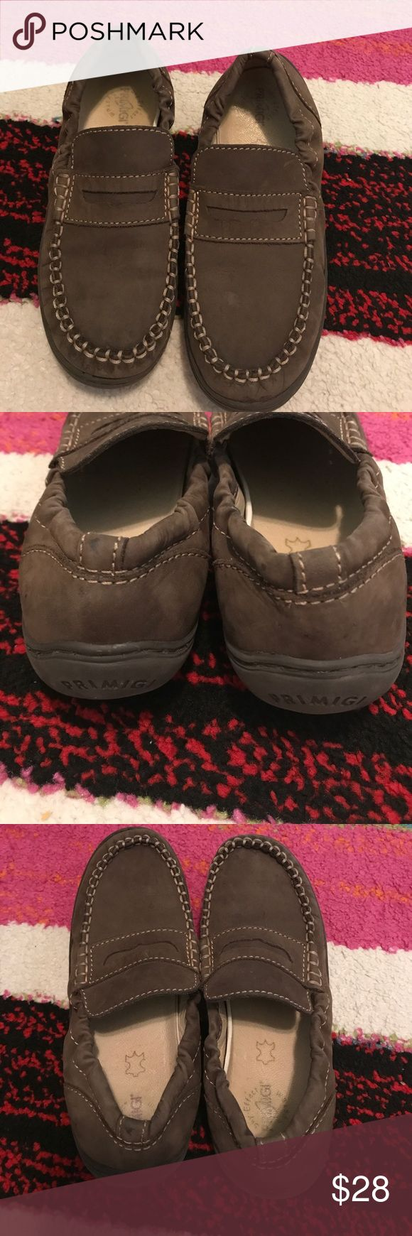 Primigi brown sky effect moccasin loafer size 33 Preowned condition. Fashionable and comfortable boys size 33 Primigi Shoes Moccasins