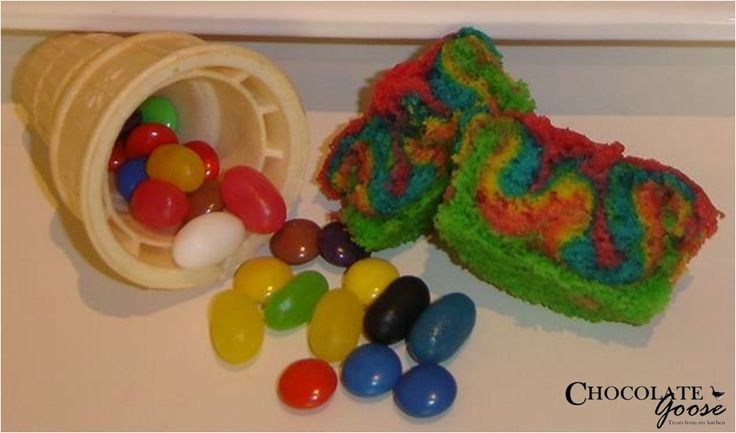 Ice cream Cupcakes with hidden candy