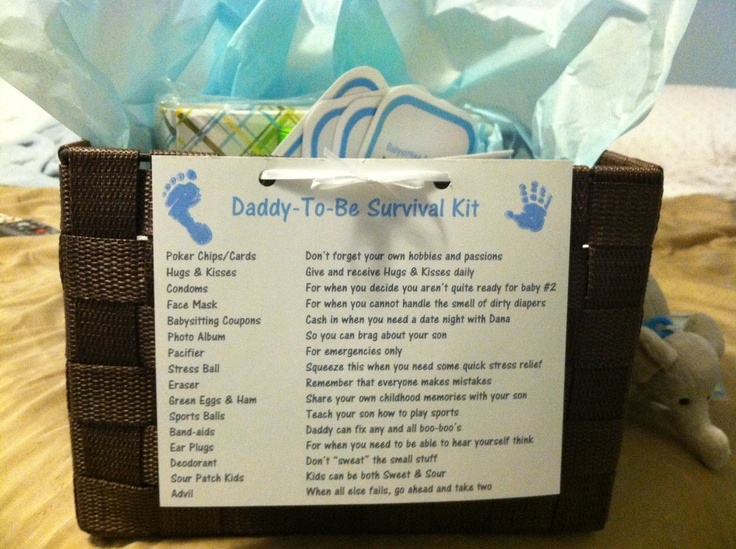 Daddy to Be Survival Kit Personalized Peacefulmoon@live.com #Daddytobe #giftfornewdad #babyshower #daddysurvivalkit