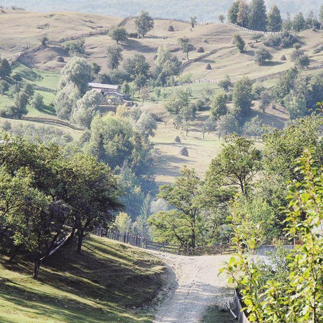 Countryside landscape 🏘 #romania #vrancea #sezatoareaurbana  Fotografiat de @silviacaraiman