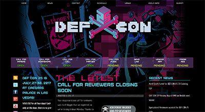 DEF CON 25 Site image