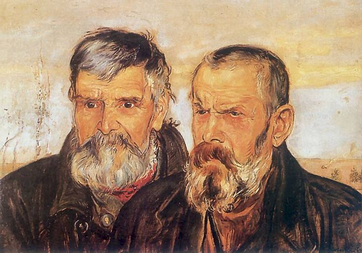 Vlastimil Hofman - Dwóch starców