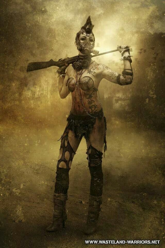 Wasteland Warrior Post Apocalyptic