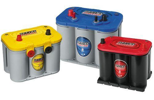 baterias de gel optima amarilla roja azul alto rendimiento