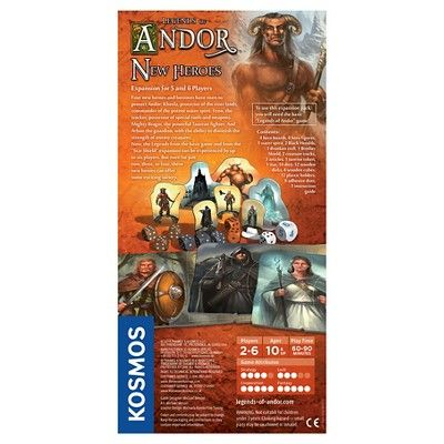 Thames & Kosmos Legends of Andor : New Heroes Expansion