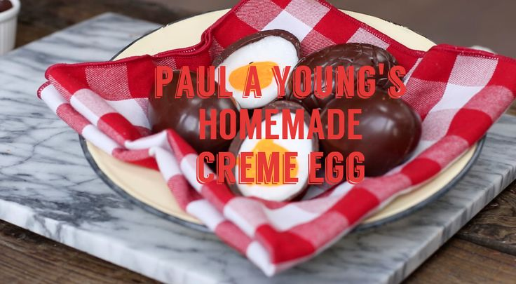 Find out how to make your own HOMEMADE creme eggs, from chocolate wizard Paul A Young