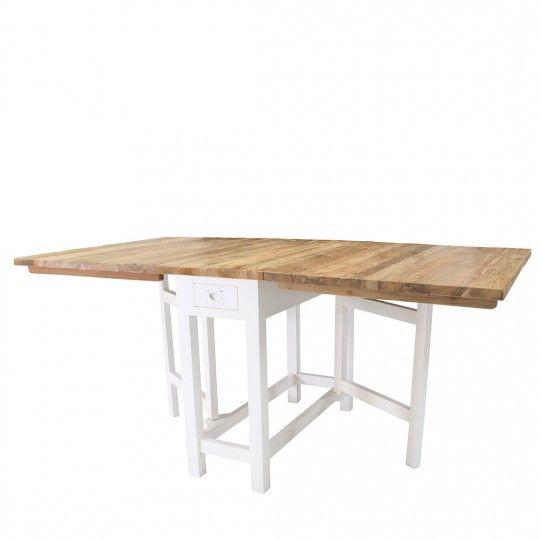 Stół drewniany składany-model szwedzki