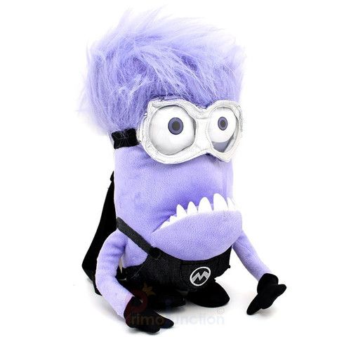 Evil Minion Backpack  Want to carry an evil but cute minion backpack? Grab this 'HOT' Evil Minion Backpack Grab yours here: ➩➩➩  http://mytopnotchproducts.com/products/evil-minion-backpack  #evil #minion #despicable #me #bag #purple