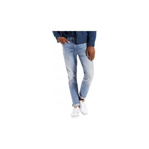 Levis Jeans  512 Slim Taper Jukebox Jeans (140 CAD) ❤ liked on Polyvore featuring men's fashion, men's clothing, men's jeans, blue, jeans, men, mens slim fit jeans, mens jeans, mens tapered jeans and mens slim cut jeans