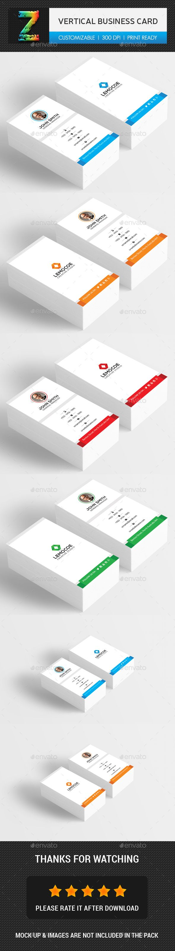 1000 ideas about Vertical Business Cards on Pinterest