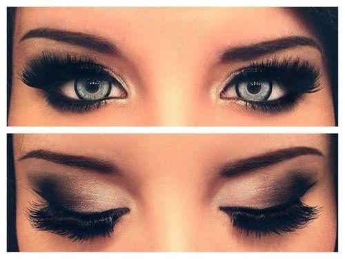 Las etiquetas más populares para esta imagen incluyen: eyes, makeup, make up y blue