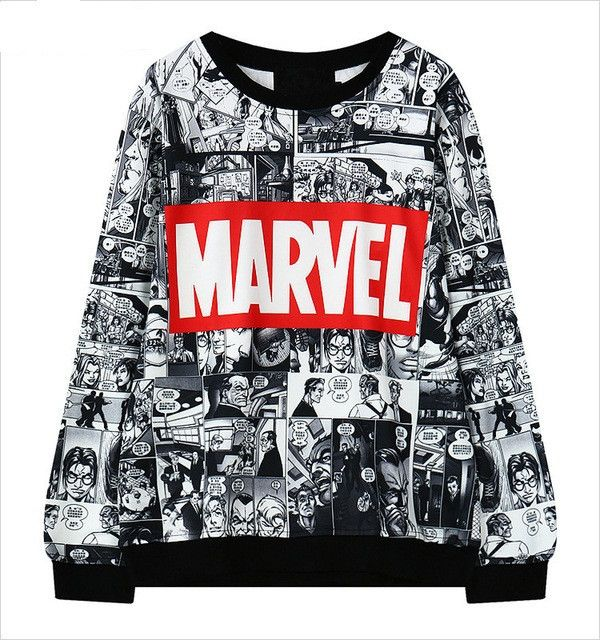 Marvel Comic Sweatshirt – Top Notch Products Any MARVEL FANS here? ★ 50% OFF ★ and FREE SHIPPING Limited Time Only! Get it NOW ==> http://mytopnotchproducts.com/products/marvel-comic-sweatshirt TAG a friend who would also like one