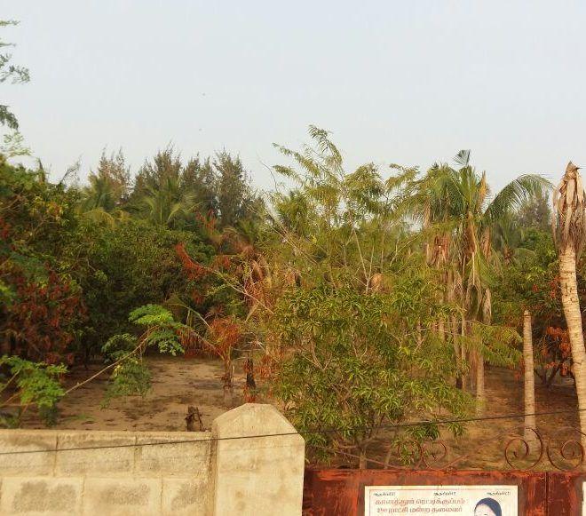 Kanathur Meeran Nagar 10 ground On Main Road Land
