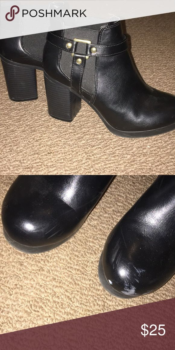 Payless Shoe Source Christian Siriano Boots Minor scuffing on the toe. Price is negotiable. Shoes Ankle Boots & Booties