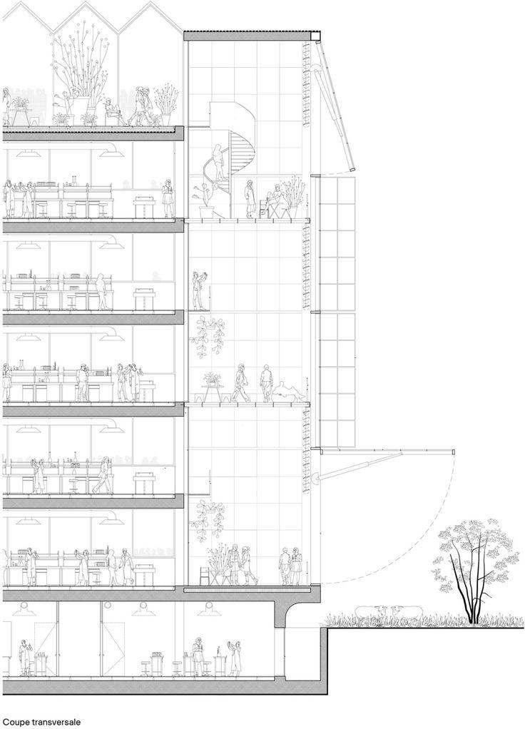 12 best Baukunst / Bruther: Sciences de la Vie building