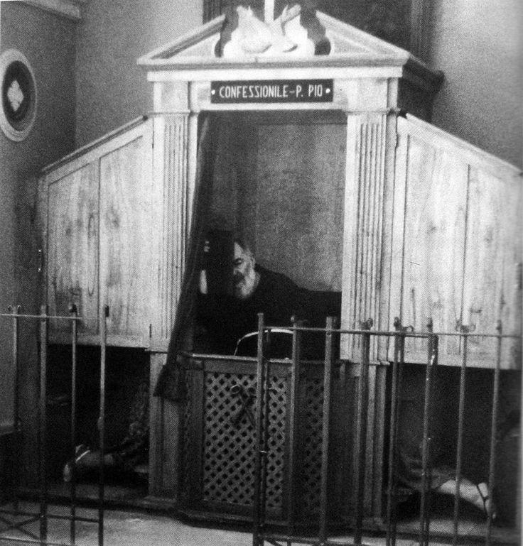 Sacrament of Confession / Padre Pio