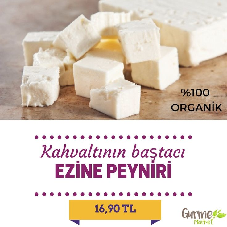 Kahvaltı sofralarının baştacı %100 organik Ezine Peyniri!
