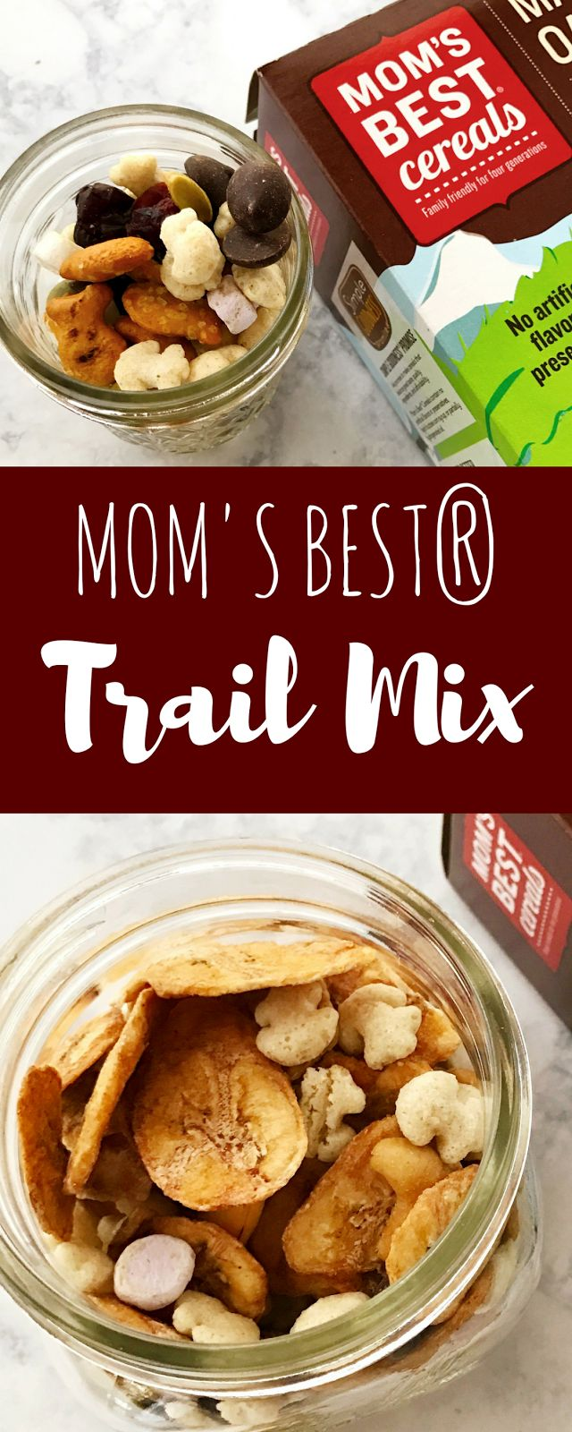 Easy Snack for New Year; Healthy Snacks; Trail Mix DIY; Kids Trail Mix; Banana Crunch Trail Mix; How to Trail Mix; Mom's Best Cereal