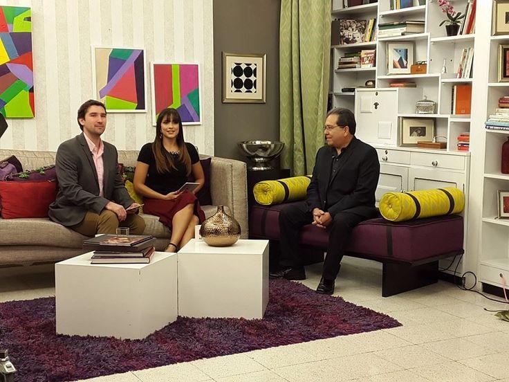 Entrevista en el Matutino Express por Canal Antigua