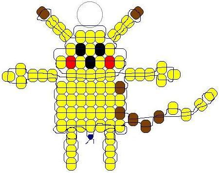 pikachu Pony Bead Pattern