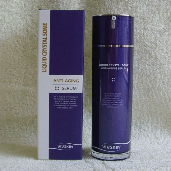 Korean cosmatic / Liquid Crystal Some Anti-Aging Serum  VIVSKIN  (50ml) ! #MEDIWAY