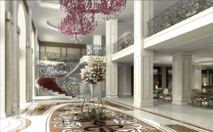 TSAR EVENTS' CHOICE -HOTEL OF THE WEEK -Baltschug Kempinski Moscow. New Lobby