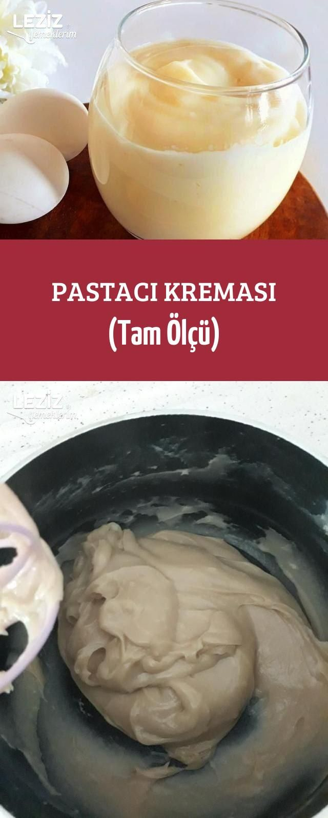 Pastacı Kreması (Tam Ölçü)