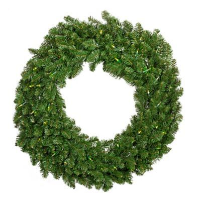 See more detail about 36-Inch Glisten Pre-Lit Wreath..
