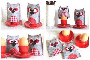 Owl egg cosy // DIY Hühner legen die Eier, Hasen verstecken die Eier, Eulen wärmen die Eier… so läuft das doch Ostern, oder? Ab jetzt jedenfalls schon, denn mit dieser Anleitung näht Ihr Euch im Handumdrehen einen charmanten Eulen-Eierwämer aus Filz! Perfekt als kleines Ostergeschenk oder schnelle Osterbastelei mit Kindern, da alle Nähte mit der [...]