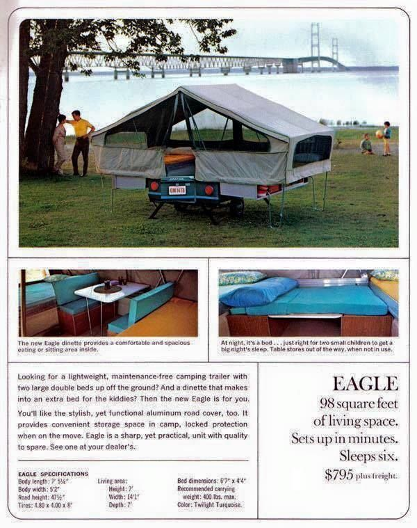 Been a while since you could buy a new compact tent trailer for under a $1000