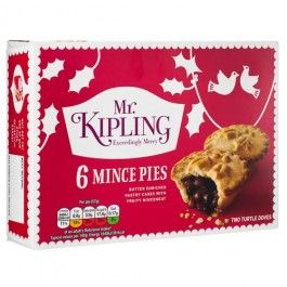 This Christmas we have a dazzling range of festive cakes these Mr Kipling Mince Pies are great after your Christmas dinner.