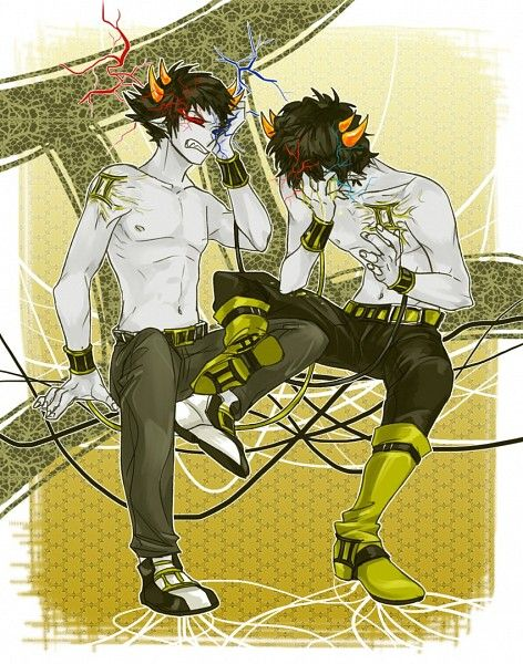 w0w. Sollux and Mituna looking fine! ;) what? No, I haven't been looking at this picture for 5.2 hours...you cray-cray.