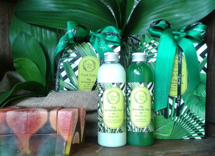 #Fresh #Spring #TwinSet με δροσερό άρωμα από φρεσκοκομμένα σύκα & πράσινο τσάι… που θυμίζουν καλοκαίρι!  #FreshLine #giftset #Fig & #GreenTea #extracts #summercountdown