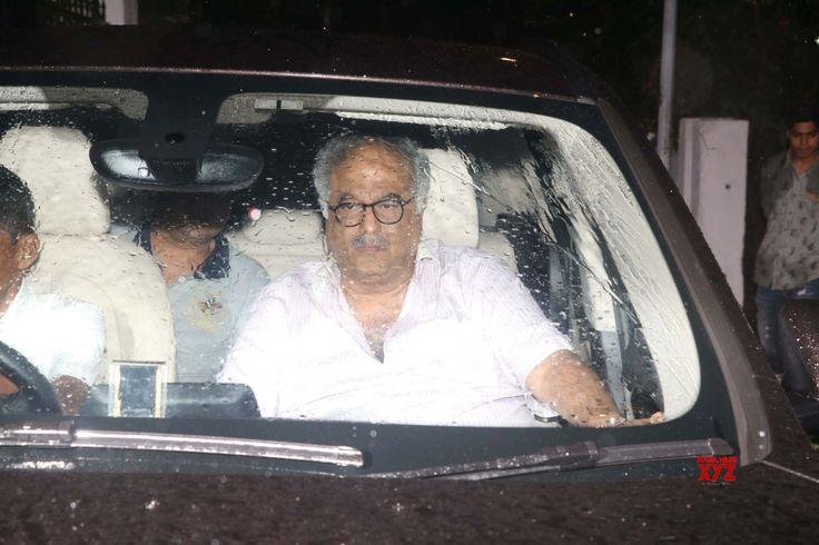 Mumbai: Boney Kapoor at Shashi Kapoor's residence - Social News XYZ