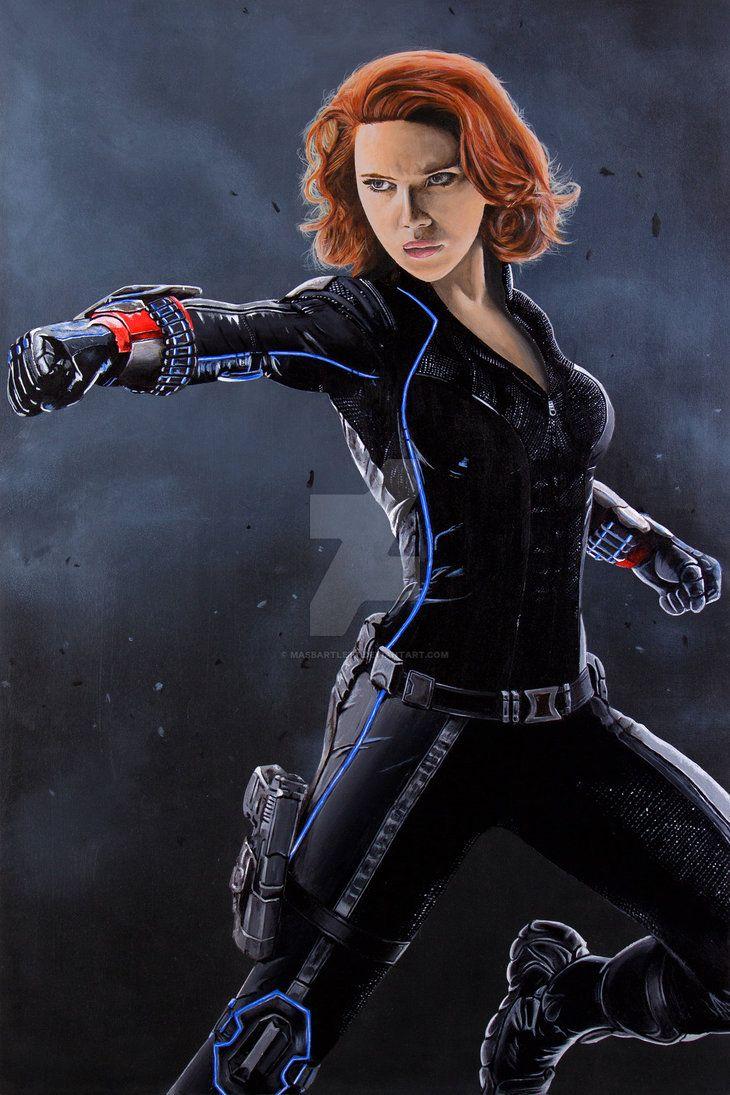 Black Widow by MASbartlett
