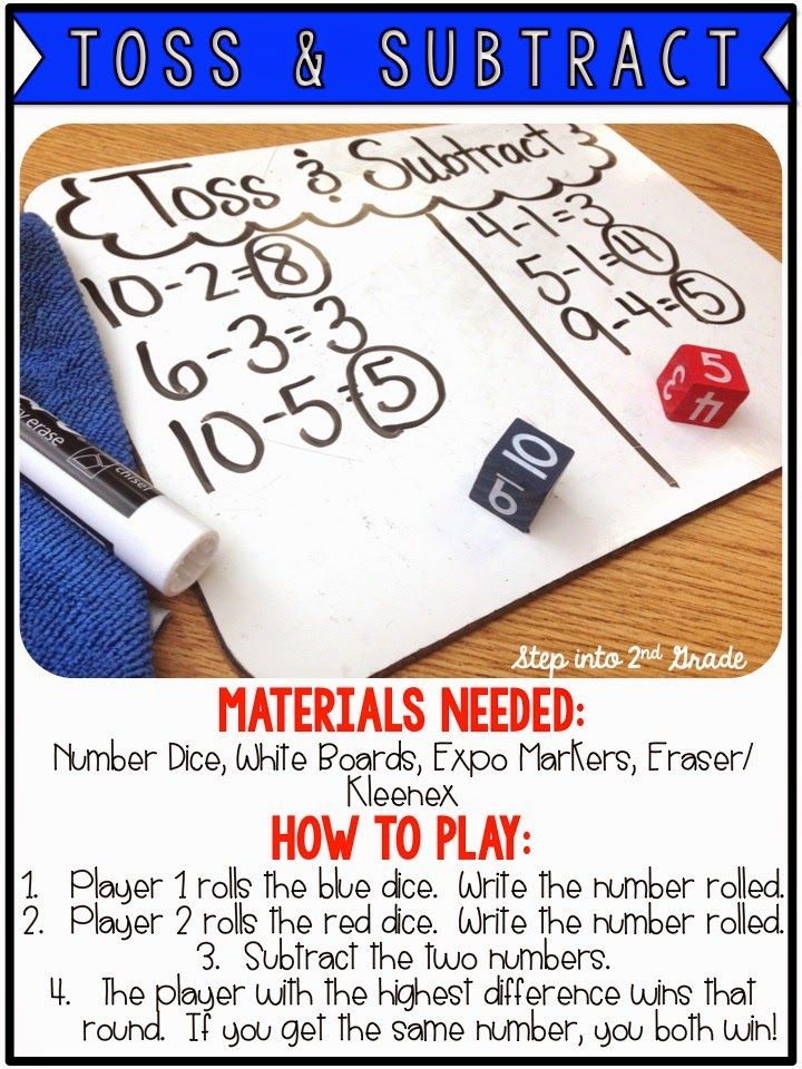 Subtraction Games! with things I have already.