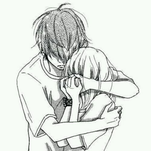 "(Open rp? Be him, I'm the girl named Sky. Romance and drama please!) My best friend had just burst through the door of my room in my empty house. He walks in and grabs me as I stand up, and he holds me close. I could feel tears dropping onto my hair. ""J-Jared?"" I say quietly. (Message me please so I can respond faster, credit for prompt to iLuci)"