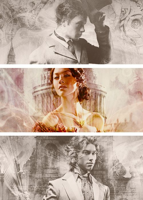 The Infernal Devices by Cassandra Clare. Clockwork Angel; Clockwork Prince; & Clockwork Princess coming out March 2013.