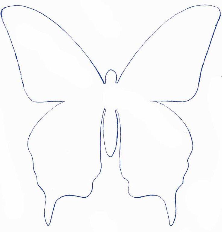 M s de 25 ideas incre bles sobre mariposas de papel en - Como hacer mariposas de papel para decorar paredes ...