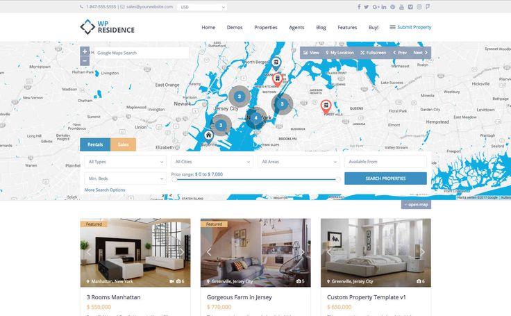 WP Residence WordPress Emlak Teması | WP Kurulum