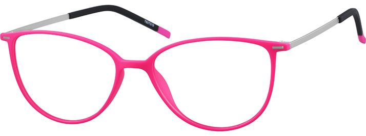 Order online, women pink full rim mixed materials cat-eye eyeglass frames model #7807319. Visit Zenni Optical today to browse our collection of glasses and sunglasses.