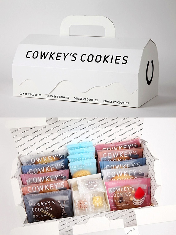 I want some COWKEY'S COOKIES - Assortment Box packaging PD