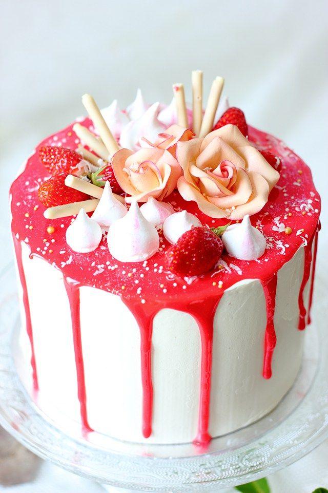 Layer Cake Fraises et vanille