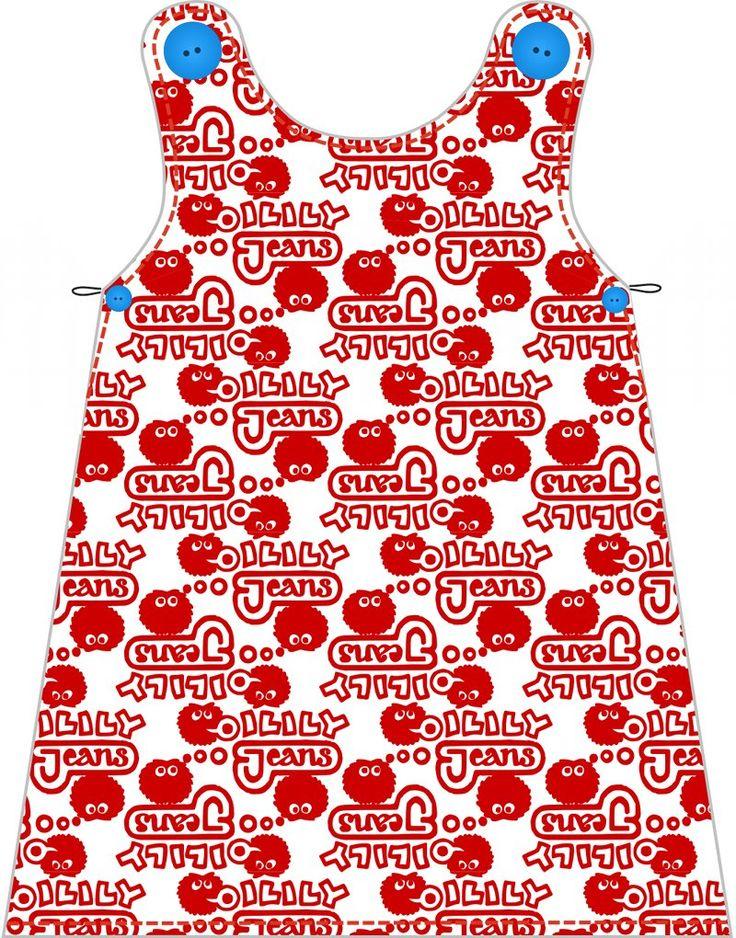 Fabrik der Träume: Gratis Nähanleitung und Schnittmuster für ein holländisches Babykleid (in 6 verschiedenen Größen)