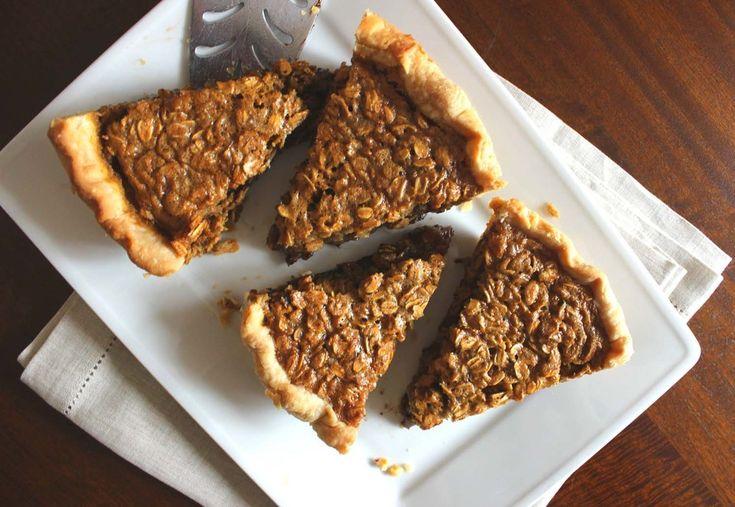 Black Bottom Oatmeal Pie  Image:Laura Messersmith