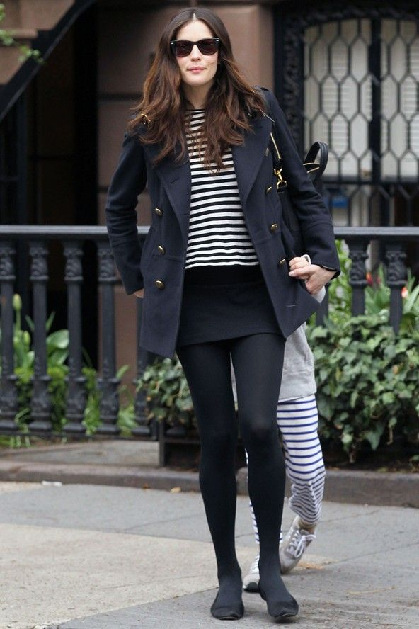 Liv Tyler on the street in New York - celebrity fashion (Glamour.com UK)