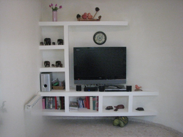 plaster boards tv shelves design this is what ive been talking about for