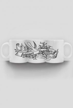 Forever together - kubek - mug